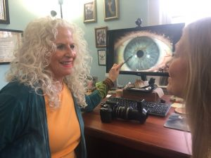 Iridology reading